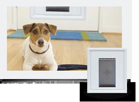 Panel Pet Door Insert™